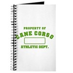 Cane Corso Athletic Dept Journal