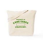 Cane Corso Athletic Dept Tote Bag