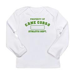 Cane Corso Athletic Dept Long Sleeve Infant T-Shir