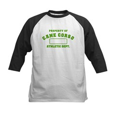 Cane Corso Athletic Dept Kids Baseball Jersey