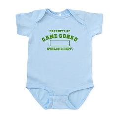 Cane Corso Athletic Dept Infant Bodysuit