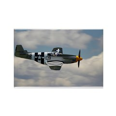 P 51 Mustang Rectangle Magnet (10 pack)