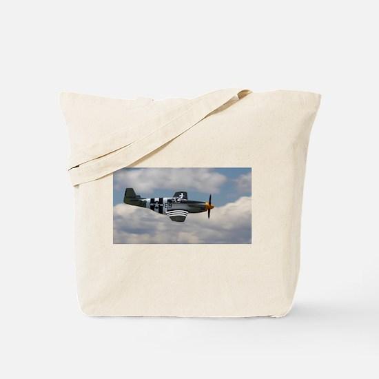 P 51 Mustang Tote Bag