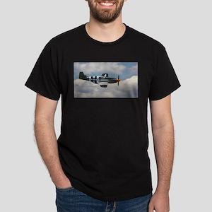 P 51 Mustang Dark T-Shirt
