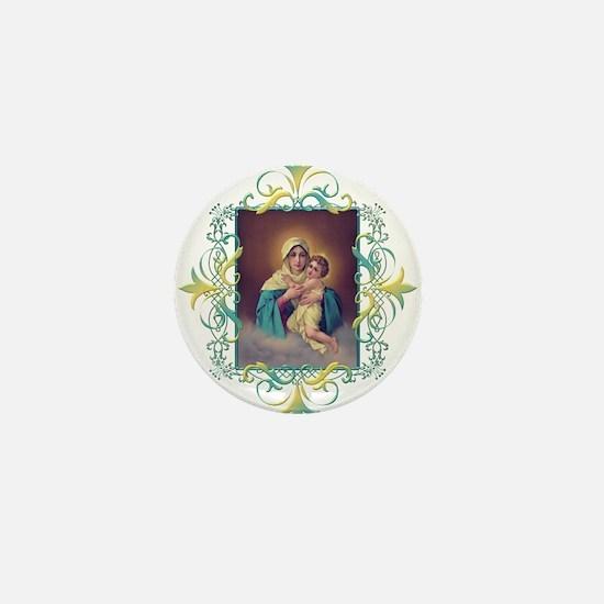 MTA - Our Lady of Schoenstatt Mini Button
