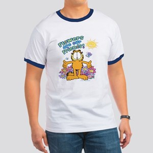 Flowers Are Our Friends! Ringer T