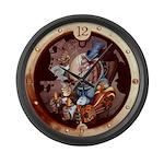 SPSCporthole Large Wall Clock