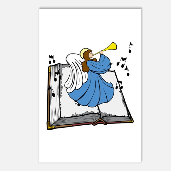 Angel and Book Postcards (Package of 8)
