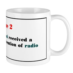 Mug: Guglielmo Marconi received a patent for his i