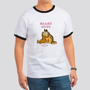 Beary Cute Garfield and Pooky Ringer T
