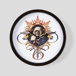 Pray the Rosary Wall Clock