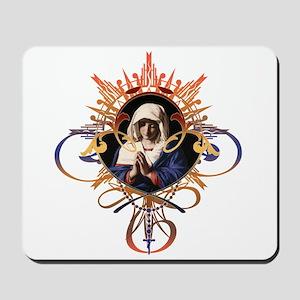 Pray the Rosary Mousepad