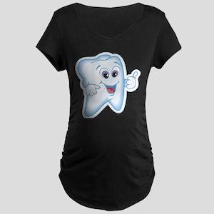 Great Job Dentists Dental Maternity Dark T-Shirt
