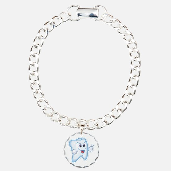 Great Job Dentists Dental Charm Bracelet, One Char