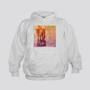 St. Michael Prayer in Latin Kids Hoodie