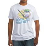 Cute Dental Hygienists Fitted T-Shirt