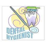 Cute Dental Hygienists Small Poster