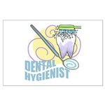Cute Dental Hygienists Large Poster