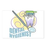 Cute Dental Hygienists Postcards (Package of 8)