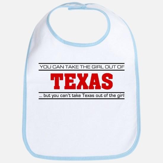 'Girl From Texas' Bib