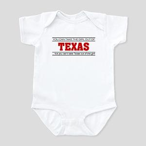'Girl From Texas' Infant Bodysuit