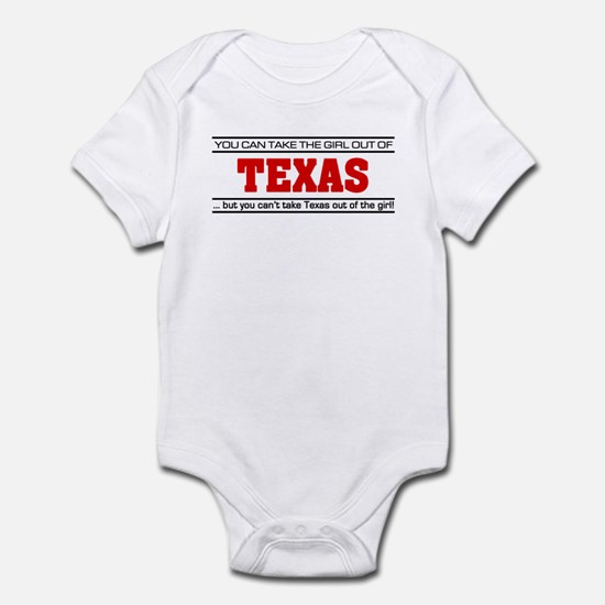 'Girl From Texas' Infant Bodysuit