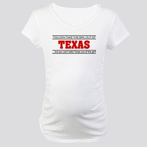 'Girl From Texas' Maternity T-Shirt