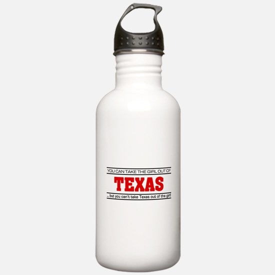 'Girl From Texas' Water Bottle