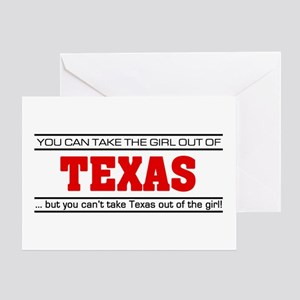 Womens texas greeting cards cafepress girl from texas greeting card m4hsunfo