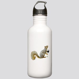 Squirrel with Wine Stainless Water Bottle 1.0L