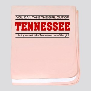'Girl From Tennessee' baby blanket