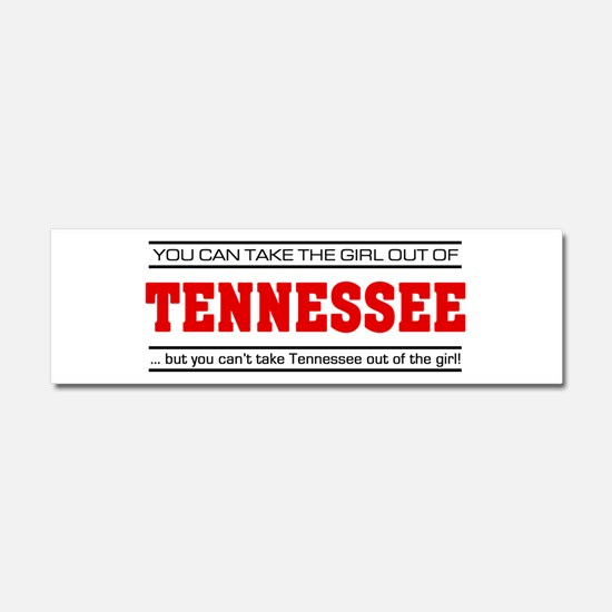 'Girl From Tennessee' Car Magnet 10 x 3