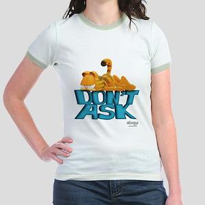 "Garfield ""Don't Ask"" Jr. Ringer T-Shirt"