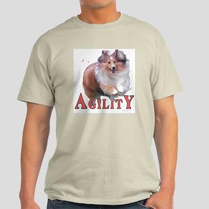 Sheltie Agility Ash Grey T-Shirt