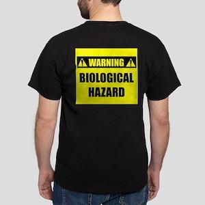 WARNING: Biological Hazard Dark T-Shirt