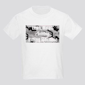 Zombie Killing Machine Kids Light T-Shirt