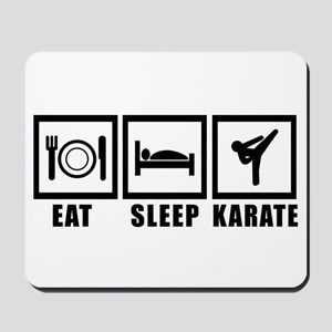 Eat Sleep Karate Mousepad
