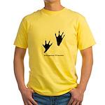 Alligator Tracks Yellow T-Shirt