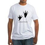 Alligator Tracks Fitted T-Shirt