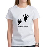 Alligator Tracks Women's T-Shirt