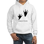Alligator Tracks Hooded Sweatshirt