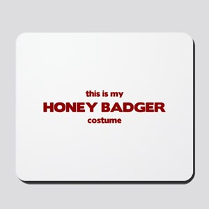 This Is My HONEY BADGER Costu Mousepad