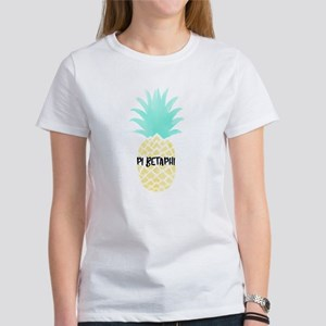 Pi Beta Phi Pineappl Women's Classic White T-Shirt