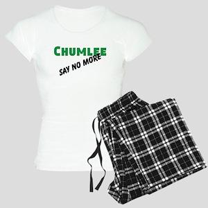 Chumlee Say No More Women's Light Pajamas