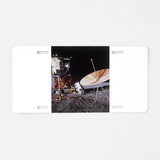 Phone Home Aluminum License Plate