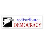 DEMOCRACY Sticker (Bumper 10 pk)
