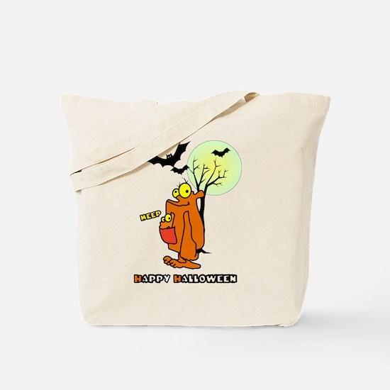 Meep Halloween Tote Bag