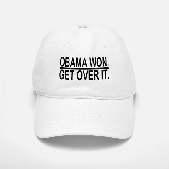 Obama Won Get Over It Baseball Baseball Baseball Cap