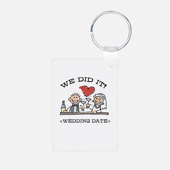 Funny Personalized Wedding Keychains