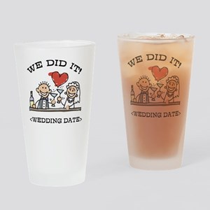 Funny Personalized Wedding Drinking Glass